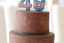 Bizcochos y tartas desnudas / Selección de tartas desnudas, sin fondant especiales para eventos y bodas.