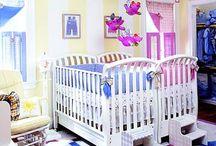 Twin nursery ideas / by Melanie Henning