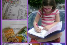 Educational Road Trips / Learning activities for kids to do while driving in the car.