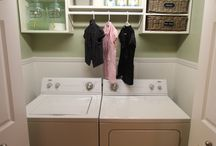 Laundry room/ kitchen re do / by Katharine Marino