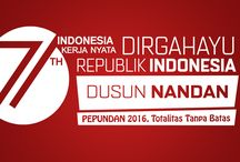 HUT RI 71 / Dirgahayu Republik Indonesia Ke-71. Dusun Nandan