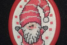 My Cross Stitch / Mine broderier / My finished cross stitch projects :)