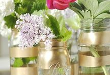 A Million Uses For Mason Jars... / Mason Jars and what to do with them!