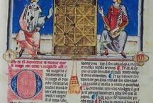 """MS - Alfonso X / ''Libro de los Juegos"""" o """"Libros del Axedrez, Dados et Tablas'' de Alfonso X El Sabio"""