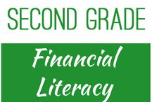 Second Grade: Financial Literacy / This board contains resources for Texas TEKS: 2.11B -  explain that saving is an alternative to spending  2.11D -  identify examples of borrowing and distinguish between responsible and irresponsible borrowing  2.11E -  identify example of lending and use concepts of benefits and costs to evaluate lending decisions  2.11F -  differentiate between producers and consumers and calculate the cost of produce a simple item