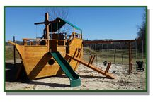 Pirate Ships / Our Pirate Ship Swing Sets