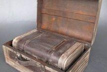 Koffer Truhen und Boxen / Dekorative Koffer und Boxen