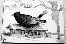 Drawings & sketchbooks