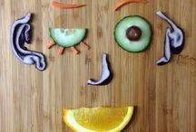 #FridayFace / Every Friday, we put up silly faces made of fruits and vegetables by our followers on Facebook. But we don't want them to just go away when Friday's over, so we keep them here to inspire future Friday Faces.