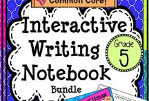 Writing 5th grade / Find writing ideas to teach Grade 5!  Sentence writing, paragraph writing, narrative writing, opinion writing, informative writing, persuasive writing!  Lessons, activities, crafts, mini lessons, workshop ideas, anchor charts, prompts and more!
