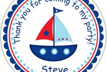 Birthday Favor Tags & Stickers Design Portfolio