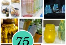 Mason jars / by Cindy Dawson