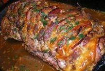 pečené mäso