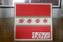Rj's Valentine Card Creations / Some of My Card's I did for Valentine's Day. Hope you like
