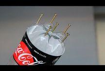 Uso de las botellas plasticas