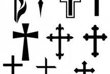Design tattoo religious