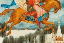 иллюстрации к сказкам (illustrations for fairy tales)