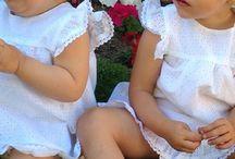 Vestidos niñas / Niñas ideales en verano.