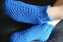 body and bath /  knitting for slippers and bath related items