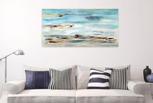 Beautiful Paintings & Wall Decor / I'm collecting the most beautiful oil and acrylic paintings for my home. Maybe you get some inspiration for your own home.