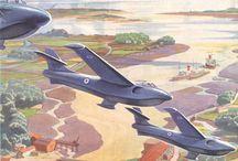 Seaplane jet fighters