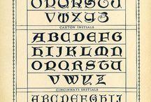 Alphabet,fonts& calligraphy