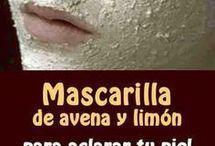 máscara piel