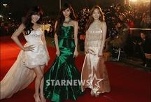 SNSD / Taeyeon, Yoona, Sooyoung, Sunny, Tiffany, Jessica, Yuri, Hyoyeon, Seohyun. My bias: Sooyoung&Seohyun