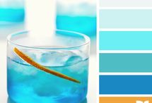 Magic color / Combinations of colors, the palette