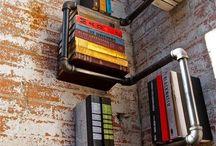 Repisas (Shelves) / Diferentes diseños de repisas y estantes en diversos materiales (Shelves, ledges...) / by Tejonencio Tejón
