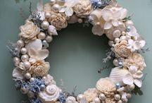 Věnce, floristika