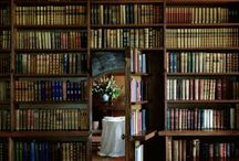 I have always imagined that paradise will be kind of a library. - Jorges Luis Burges / by Heather Baleka-Smith
