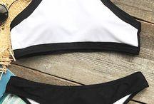 Swimming fashion for summer fun