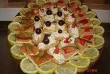 platouri aperitive din bucătăria lu  janet