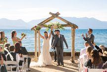 Lakeside Weddings in Tahoe