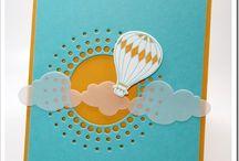 Cards - Hot Air Balloons