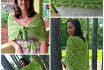 Crochet shawls & cowls