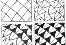 젠탱글 패턴