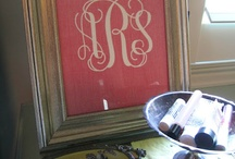 monogram / by Marlene Sims
