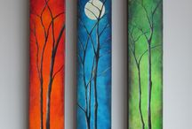 Art: Trees and leaves