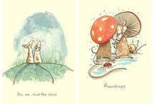 Anita Jeram / Water-colour art collection / by w b