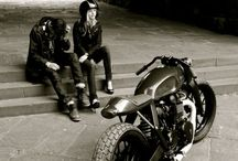 Motorcycles - cafe racer