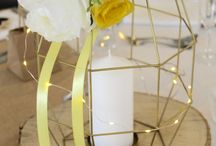 Cool Centrepieces / Looking for something a bit different for your wedding centrepieces? Check out these ideas...