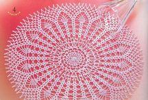 crochet napkin