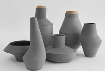 Ceramics Inspiration / #ceramics Pots and other articles made from #clay hardened by heat. A nonmetallic solid that remains hard when heated.