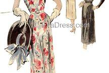 Sewing vintage / Vintage style sewing patterns