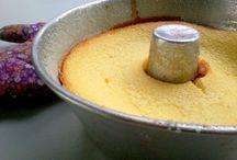 Pudim queijo com calda goiabada