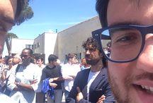WALK OF FAME / 7maggio2015 vengono ricordati attraverso delle mattonelle al foro italico i migliori 100 altelti d'Italia.