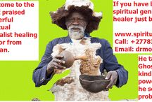 spiritual healers in Africa / Powerful spiritual herbal healing doctor with spell casting tactics in South Africa and serving worldwide with honesty and diginity using greatest Ancestral spirits and holistic magic spells with strong mixed herbal treatments. free dream translations,Herbal mixed remedies and Our Ancestral Spirits can reach you. Results are permanent. We help on lost lover, broken relationships,marriages,finance,psychic and any other types of ailments problems. Please Call Us for Emergency : +27 783 261 944