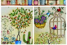 Secret garden / Tajemná zahrada / Moje výtvory a inspirace pro mě. My creation and inspiration from you ♥